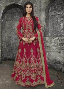 Ayesha Takia Art Silk Long Length Anarkali Suit
