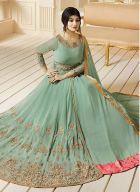 Ayesha Takia Booti Work Floor Length Salwar Suit