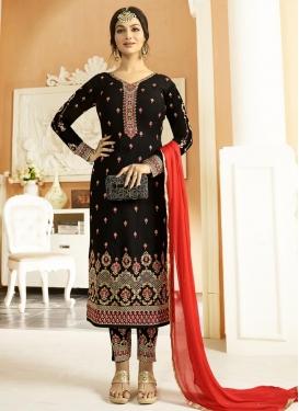 Ayesha Takia Booti Work Pant Style Pakistani Suit