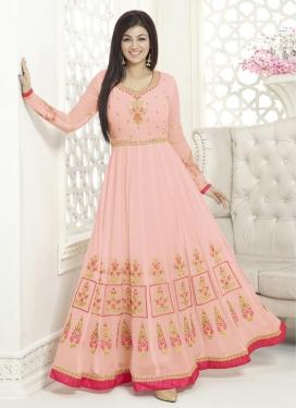 Ayesha Takia Booti Work Trendy Anarkali Suit