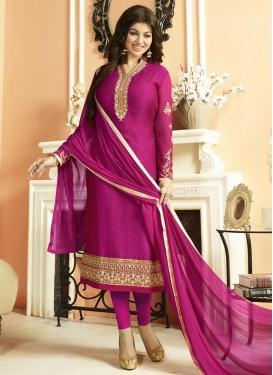 Ayesha Takia Brasso Georgette Pakistani Straight Salwar Suit