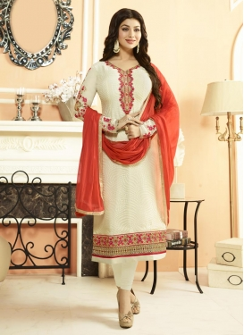 Ayesha Takia Brasso Georgette Trendy Pakistani Salwar Suit