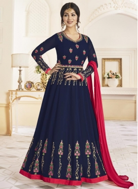 Ayesha Takia Embroidered Work Floor Length Anarkali Salwar Suit