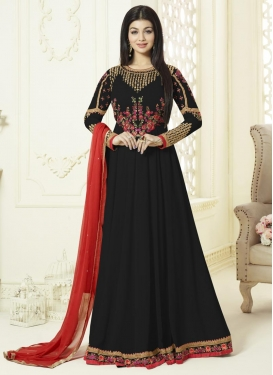 Ayesha Takia Embroidered Work Floor Length Kalidar Salwar Suit