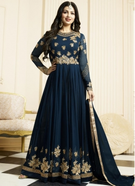 Ayesha Takia Embroidered Work Long Length Anarkali Salwar Suit