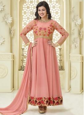 Ayesha Takia Embroidered Work Long Length Anarkali Suit