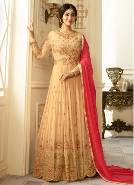 Ayesha Takia Embroidered Work Long Length Designer Anarkali Suit