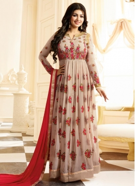 Ayesha Takia Embroidered Work Long Length Salwar Kameez