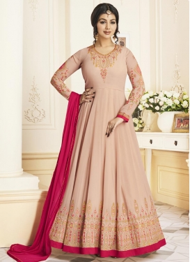 Ayesha Takia Embroidered Work Long Length Trendy Anarkali Suit