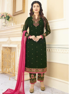 Ayesha Takia Embroidered Work Pant Style Classic Salwar Suit