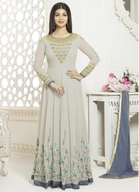 Ayesha Takia Embroidered Work Trendy Anarkali Salwar Kameez