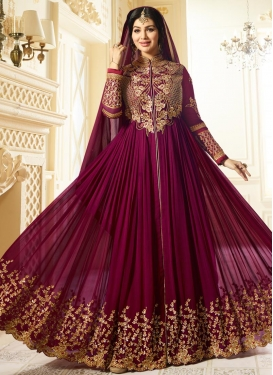 Ayesha Takia Embroidered Work Trendy Designer Salwar Kameez