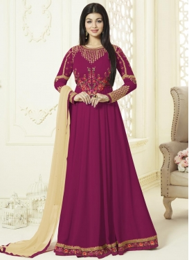 Ayesha Takia Faux Georgette Floor Length Anarkali Salwar Suit