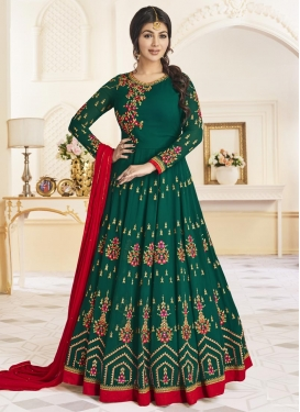 Ayesha Takia Faux Georgette Long Length Anarkali Salwar Suit