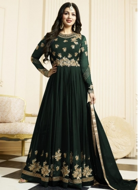 Ayesha Takia Faux Georgette Long Length Designer Anarkali Suit