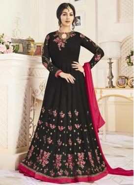 Ayesha Takia Faux Georgette Long Length Designer Anarkali Suit