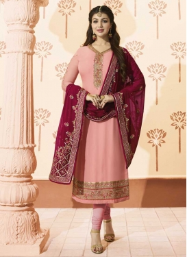 Ayesha Takia Faux Georgette Long Length Pakistani Salwar Suit