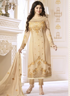 Ayesha Takia Faux Georgette Pant Style Classic Salwar Suit