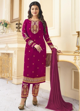 Ayesha Takia Faux Georgette Pant Style Designer Salwar Suit
