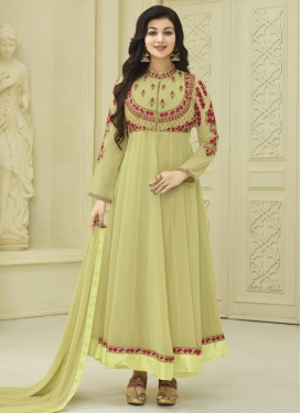 Ayesha Takia Faux Georgette Trendy Anarkali Salwar Kameez