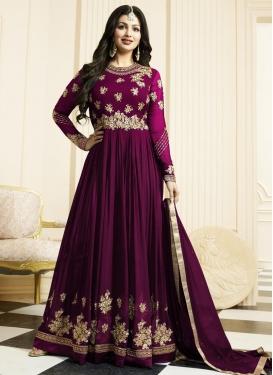 Ayesha Takia Faux Georgette Trendy Anarkali Salwar Suit