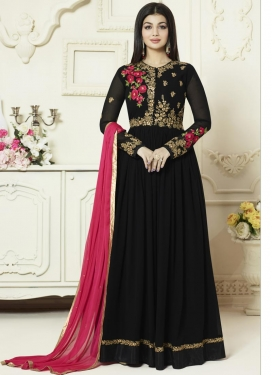 Ayesha Takia Faux Georgette Trendy Designer Salwar Kameez