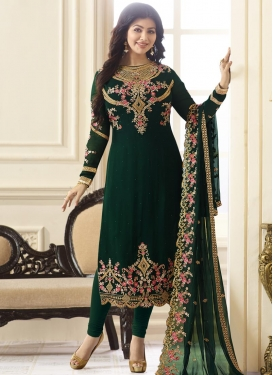 Ayesha Takia Faux Georgette Trendy Designer Salwar Suit