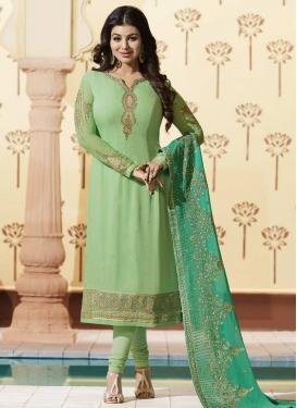 Ayesha Takia Faux Georgette Trendy Pakistani Salwar Kameez