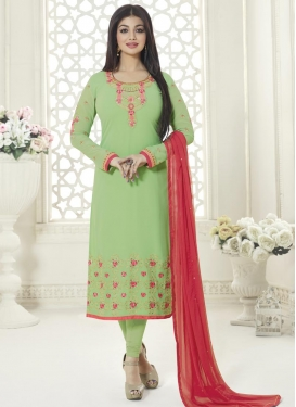 Ayesha Takia Faux Georgette Trendy Pakistani Salwar Suit For Ceremonial