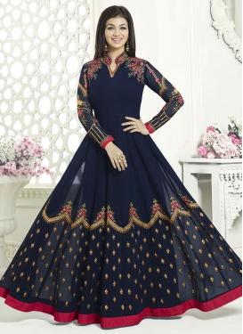 Ayesha Takia Flaring Anarkali Salwar Suit For Festival