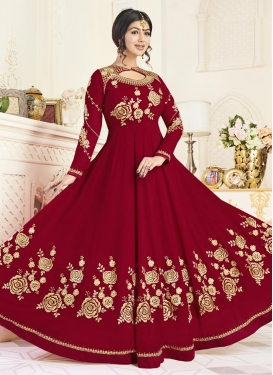 Ayesha Takia Floor Length Anarkali Salwar Suit