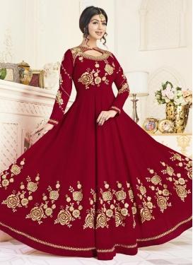Ayesha Takia Floor Length Anarkali Salwar Suit