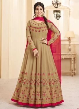 Ayesha Takia Floor Length Anarkali Salwar Suit For Festival