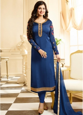 Ayesha Takia Jacket Style Salwar Kameez For Ceremonial