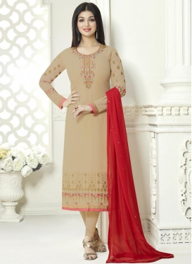 Ayesha Takia Pakistani Straight Salwar Kameez For Ceremonial