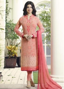 Ayesha Takia Straight Pakistani Salwar Suit For Festival