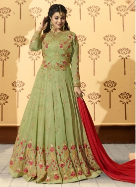Ayesha Takia Trendy Anarkali Salwar Kameez For Party