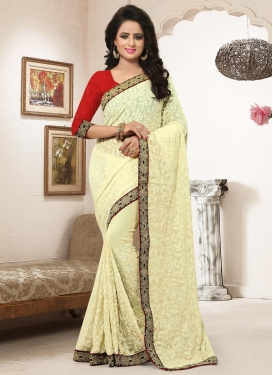 Bamberg Georgette Contemporary Style Saree