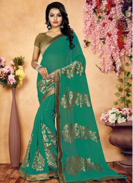 Bamberg Georgette Trendy Saree