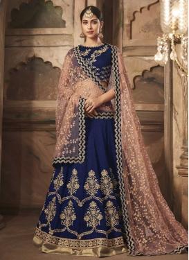 Banarasi Silk A Line Lehenga Choli