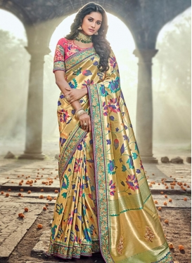 Banarasi Silk Classic Saree For Bridal