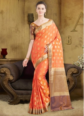 Banarasi Silk Classic Saree For Ceremonial