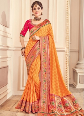 Banarasi Silk Classic Saree For Festival