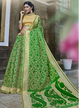 Banarasi Silk Contemporary Style Saree