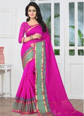 Banarasi Silk Contemporary Style Saree For Ceremonial