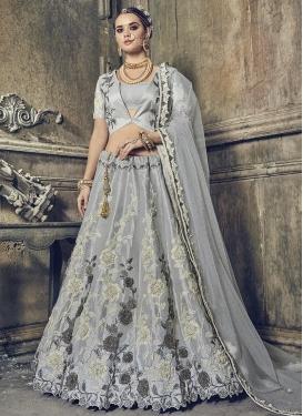 Banarasi Silk Designer Classic Lehenga Choli For Festival