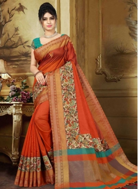 Banarasi Silk Designer Contemporary Saree For Festival