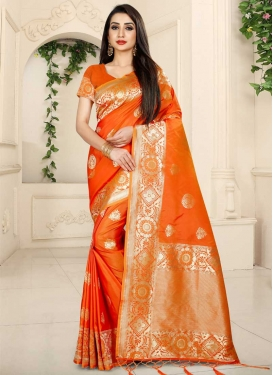 Banarasi Silk Designer Contemporary Style Saree