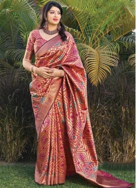 Banarasi Silk Designer Traditional Saree For Ceremonial