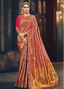 Banarasi Silk Traditional Saree For Bridal